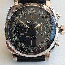 Panerai PAM 520 Radiomir 1940 Chronograph Oro Bianco -  45MM