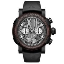 RJ-Romain Jerome Steampunk Black Chrono
