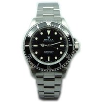 "Rolex Submariner 14060 Stainless Steel Black Face ""Non..."