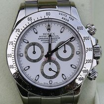 Rolex Daytona 116520 Stainless Box Papers White Dial Newest Model