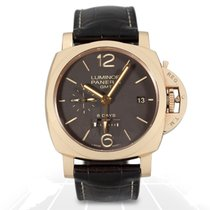 Panerai Luminor 1950 8 Days GMT ORO ROSSO - PAM 00576