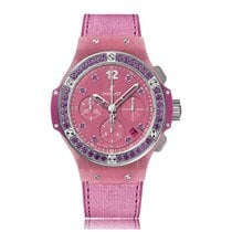 Hublot Big Bang Automatic Stainless Steel Pink Dial Unisex...