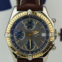 Breitling Windrider Chronomat Gold Stahl Ref 13050 .1
