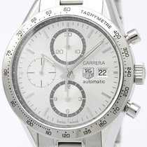 タグ・ホイヤー (TAG Heuer) Carrera Calibre 16 Chronograph Steel Watch...