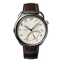 Hermès Arceau Les Temp Suspendu 43mm Steel Mens Automatic...