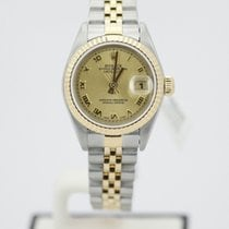 Rolex Ladies Datejust 26mm Two Tone Yellow Gold 79173 P Serial