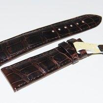 Chopard CROCO Lederband, braun  22/18 mm