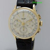 天梭 (Tissot) Vintage Chronograph CH27 18k Gold