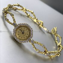 Longines - Vintage Diamond Bazel Qtz Y/G