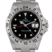 Rolex Explorer II Black Dial, With Papers & Rehaut, Ref:...