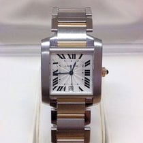 Cartier Tank Francaise W51005Q4 - Box & Service Papers 2007