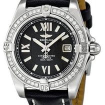 Breitling A7135653-B903BKLT Cockpit Ladys Quartz in Steel with...