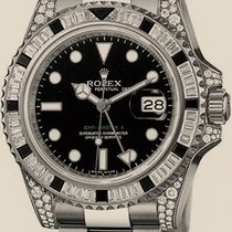 Rolex GMT-Master II 40mm White Gold Jewellery