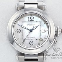Cartier Pasha C Stahl 35 mm Medium Perlmutt Automatik
