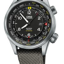 Oris Big Crown ProPilot Altimeter M, Grey Textile