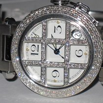 Cartier Pasha Automatic Grill Diamonds