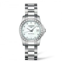 Longines Ladies L32580896 Conquest Quartz Watch