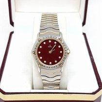 Ebel Quartz Classic Wave Diamond Gold Lady Ref 166901