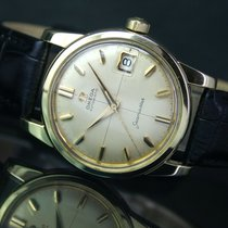 Omega Seamaster Cross Hair Automatic Gold Cap Steel Men Watch...