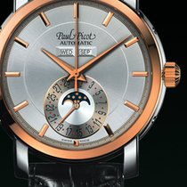Paul Picot FIRSHIRE  RONDE  moon phase  cash gold rose strap...