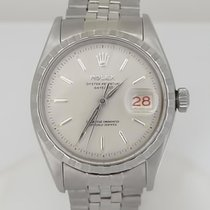 Rolex Mens Vintage 1957 Rolex Stainless Steel Oyster Perpetual...
