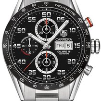 TAG Heuer Carrera Calibre 16 Day-Date Black Dial CV2A1RBA0799