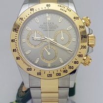 Rolex Daytona Two Tone 40mm Grey Dial REF: 116523