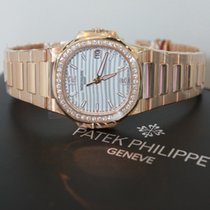 Patek Philippe Ladies NAUTILUS 32MM ROSE GOLD 7010/1R-011