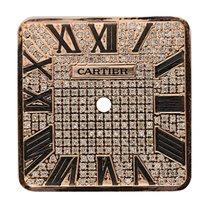 Cartier Santos 100 Large Rose Gold Diamond Pavé Custom Dial