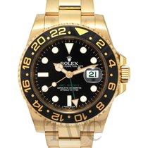 Rolex GMT-Master II Black/18k gold Ø40mm - 116718LN