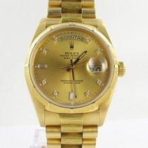 Rolex Day Date Herren Uhr 18kt Gold Ref.18078 Top Zustand...