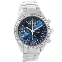 Omega Speedmaster Day-date Blue Dial Mens Watch 3523.80.00 Box