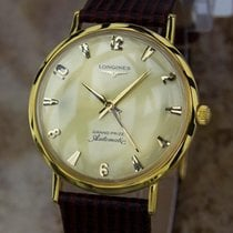 Longines Grand Prize Swiss Made Gold Filled Mens 1960 Automati...