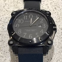 Hamilton KHAKI NAVY BELOWZERO 1000M AUTO Total Black 46mm...
