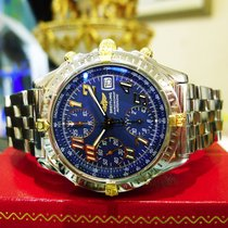 Breitling Chronomat  B13350 Chronograph Automatic Steel Gold...