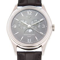 Patek Philippe Complications 18k White Gold Dark Grey Automati...