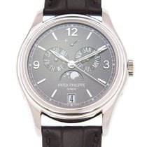 百達翡麗 (Patek Philippe) Complications 18k White Gold Dark Grey...