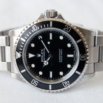 Rolex Submariner No Date - Fat Four 2 Liner - Box&paper
