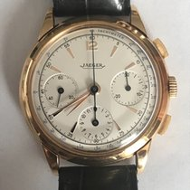Jaeger-LeCoultre Very Rare 1950's  pink  Gold Chronograph