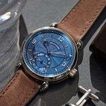 Voutilainen Vingt-8 Cal. 28 blue dial white gold
