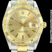 Rolex Datejust Thunderbird 1625 14k/steel Box Papers Automatic...