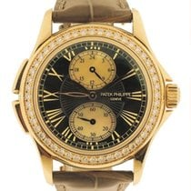 "Patek Philippe Ladies 18k Pink Gold ""Travel Time"" w/..."