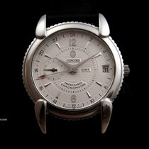 Concord Impresario Automatic GMT Steel Watch