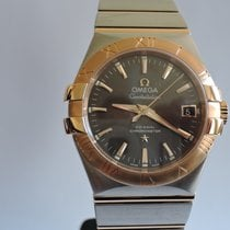 Omega Constellation Co-Axial Automatik Stahl / Rosegold 35 mm
