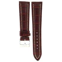 Breitling Bordeaux Crocodile Leather Strap 547p 22mm/18mm