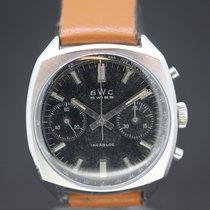 BWC-Swiss Chronograph Black Dial Landeron cal 248 ca.1970