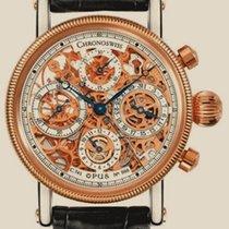 Chronoswiss Skeletonizing Opus Chronograph Rose Gold Steel