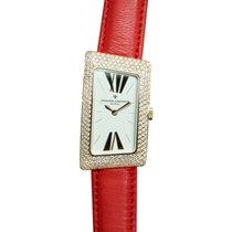 Vacheron Constantin 1972 18k Pink Gold Silvery White Quartz...