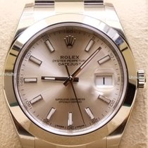 Rolex Datejust 41, Ref. 126300 - silber Index ZB/Oysterband