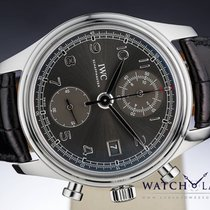 IWC PORTUGUESE CLASSIC CHRONOGRAPH GREY DIAL